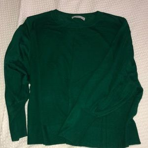 nwot zara crewneck top